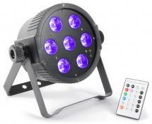 LED FlatPAR 7x 18W