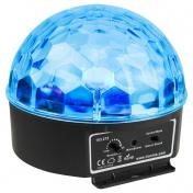 Half Ball 6x 3W RGBAWP LED IR
