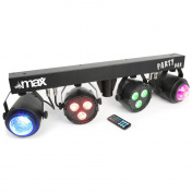 MAX Party Bar 2x LED PAR 2x Jellymoon