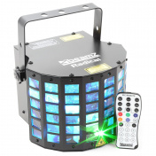 LED Derby Laser 6x3W RGBAWP