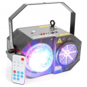LED Medusa s laserem