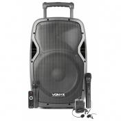 """AP1200PA mobilní 12"""" zvukový systém MP3/BT/UHF"""
