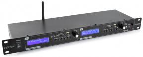 VX2USB dvojitý USB/SD/BT přehrávač