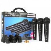 Mikro Set 3 mikrofonů s držáky