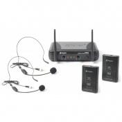VHF mikrofonní set 2 kanálový head set