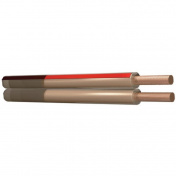 Kabel reproduktorový čirý 2x1,5qmm
