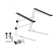 Laptop Stand with Clamp White