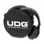 Headphone Bag Grey Stripe