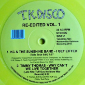 T.K.Disco Re-Edited Vol.1  2x Yellow LP