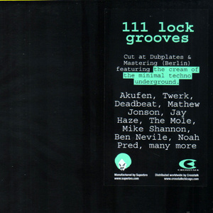 111 Lock Grooves - Cream of Minimal Techno