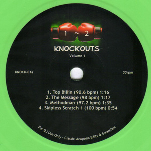 1-2 Knockouts  ! Battle 7inch !