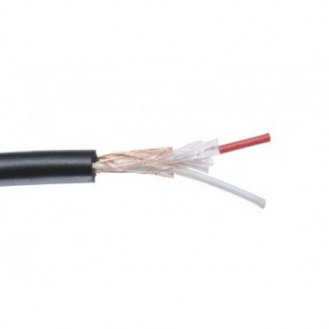 AC-MC100R-B černý mikrofonní kabel