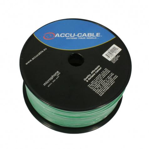 AC-MC/100R-G zelený mikrofonní kabel