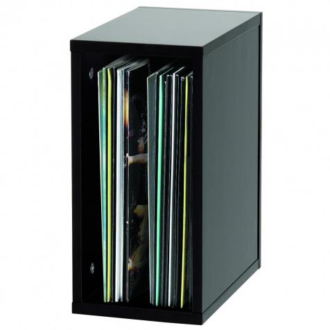 12 Record box 55 black