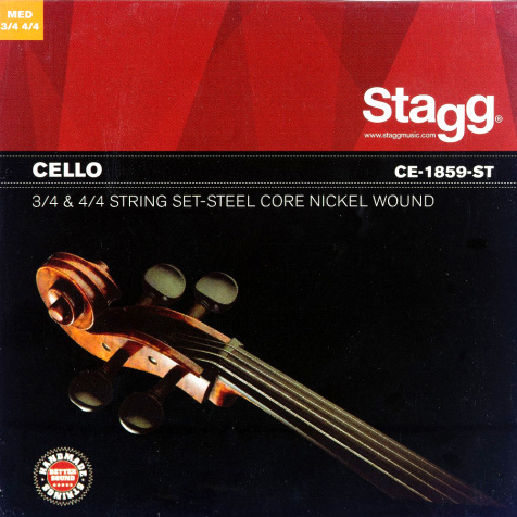 CE-1859-ST struny pro violoncello