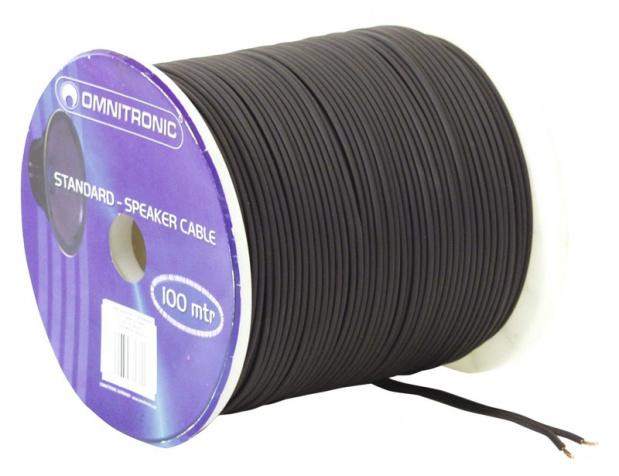 Kabel reproduktorový, 2x 1,5qmm