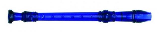 Zobcová flétna modrá II