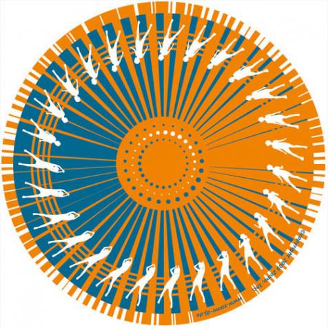 Slipmat Dance orange