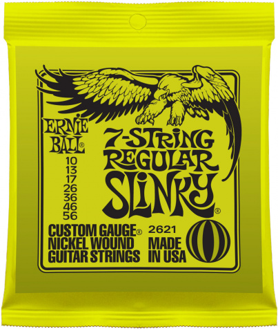 7-string Regular Slinky Nickel Wound