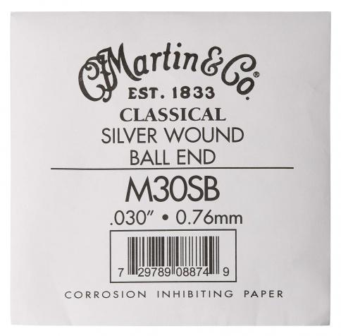 ".030"" Classical Nylon Ball End Single"