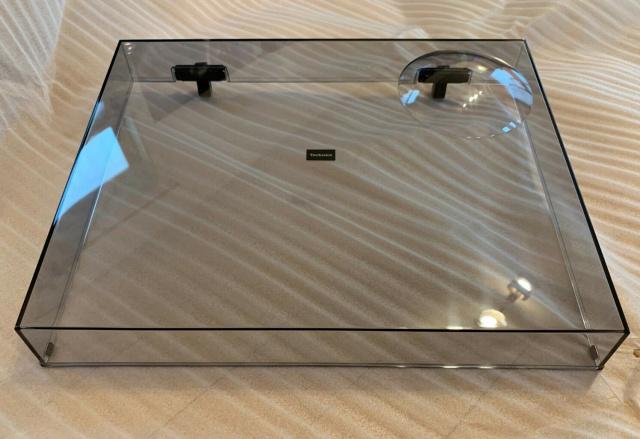 Víko plexi s panty pro Technics SL-1200G
