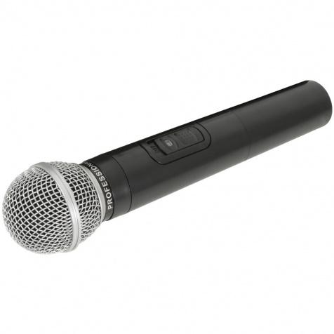 Bezdrátový mikrofon k mobilním sadám QTX, 174.1 MHz