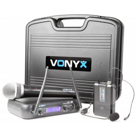 WM73C UHF sada náhlavní / ruční mikrofon