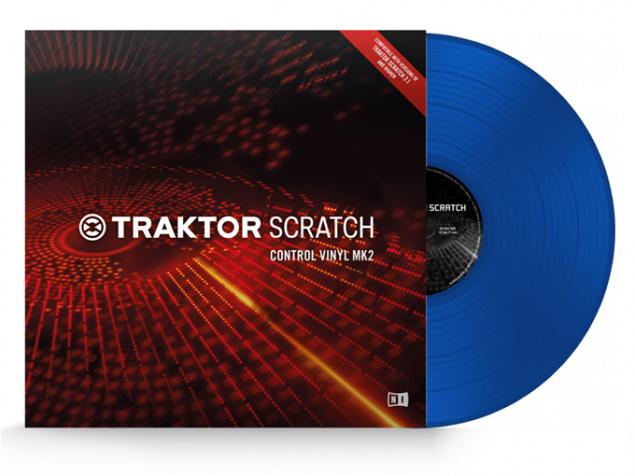 Control Vinyl MK2 Blue